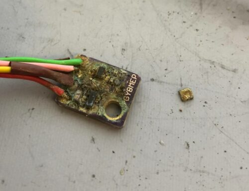 What does a bme280 humidity/temperature sensor look like after a year exposed outside?